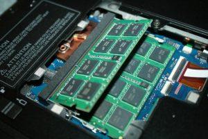 Notebook RAM değişimi