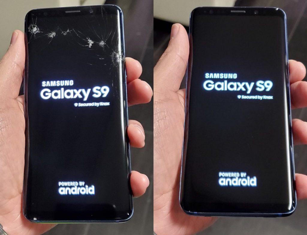 samsung s9 ekran