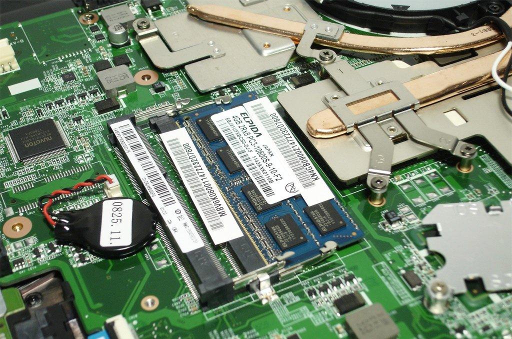 Notebook RAM arızası ve upgrade